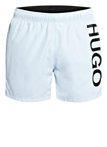 HUGO Badeshorts ABAS, Farbe: HELLBLAU (Bild 1)