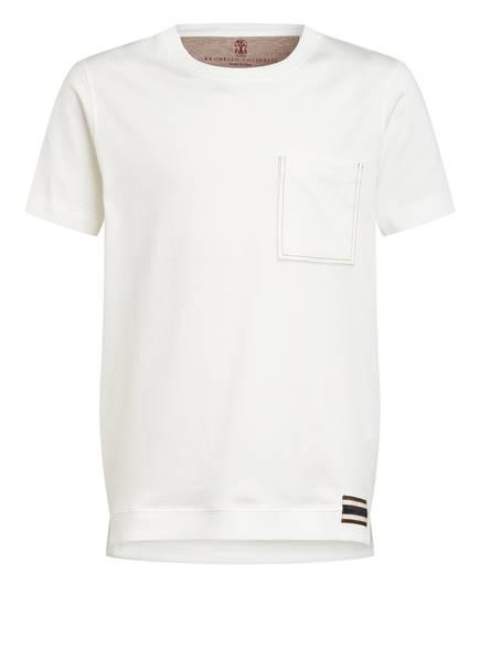 BRUNELLO CUCINELLI T-Shirt, Farbe: WEISS (Bild 1)