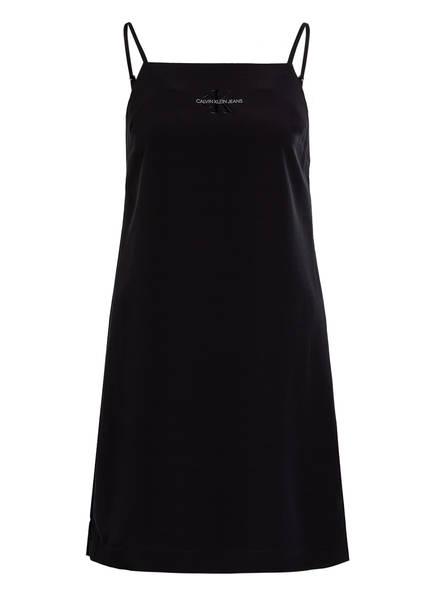 Calvin Klein Jeans Kleid Logo-SLIP, Farbe: SCHWARZ (Bild 1)