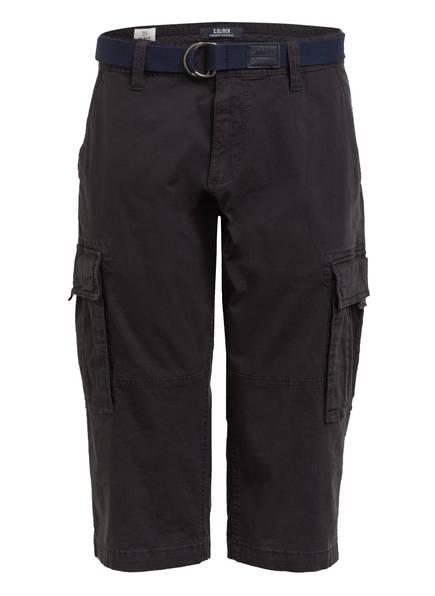 S.Oliver Cargo-Shorts Loose Fit schwarz