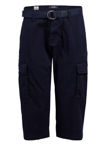 S.Oliver Cargo-Shorts Loose Fit blau