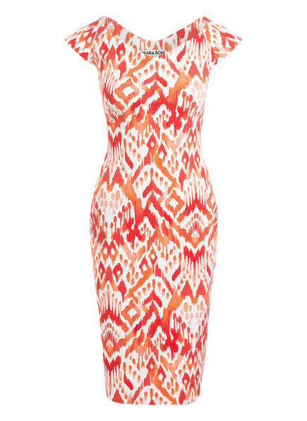 CHIARA BONI La Petite Robe Kleid SALLY, Farbe: ORANGE/ WEISS (Bild 1)