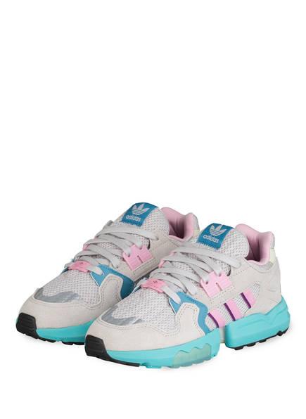 adidas Originals Sneaker ZX TORSION , Farbe: GRAU/ MINT/ ROSA (Bild 1)