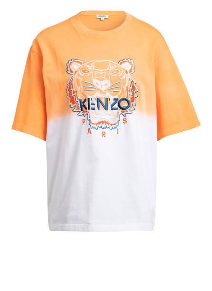 KENZO Oversized-Shirt TIGER, Farbe: ORANGE/ WEISS (Bild 1)