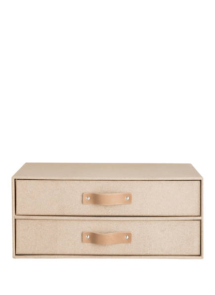 BIGSO BOX OF SWEDEN Schubladenbox BIRGER, Farbe: HELLBRAUN (Bild 1)