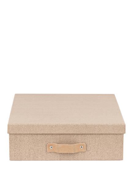 BIGSO BOX OF SWEDEN Aufbewahrungsbox OSKAR, Farbe: HELLBRAUN (Bild 1)