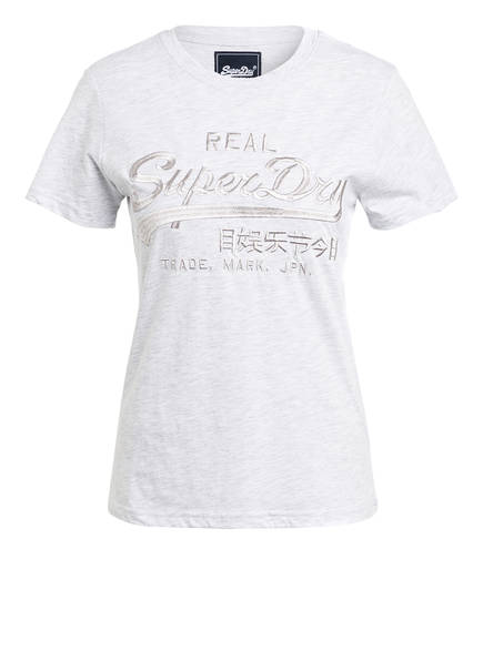 Superdry T-Shirt , Farbe: GRAU MELIERT (Bild 1)