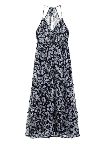 Superdry Kleid MARGAUX mit Rüschenbesatz, Farbe: DUNKELBLAU/ HELLGRAU/ WEISS (Bild 1)