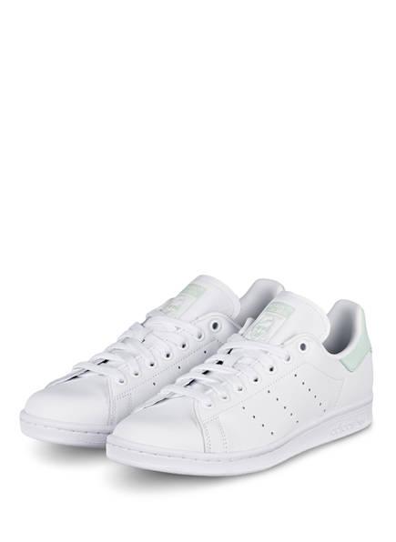 adidas Originals Sneaker STAN SMITH , Farbe: WEISS/ MINT (Bild 1)