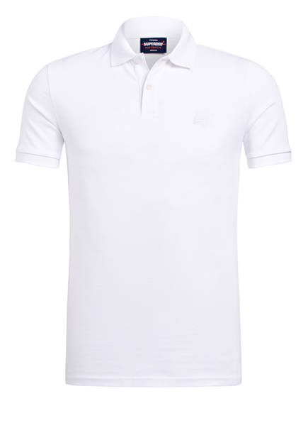 Superdry Piqué-Poloshirt , Farbe: WEISS (Bild 1)