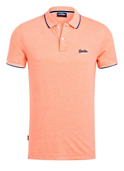 Superdry Piqué-Poloshirt POOLSIDE , Farbe: KORALLE (Bild 1)