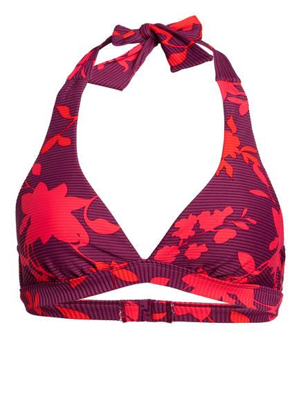 SEAFOLLY Neckholder-Bikini-Top , Farbe: LILA/ ROT (Bild 1)
