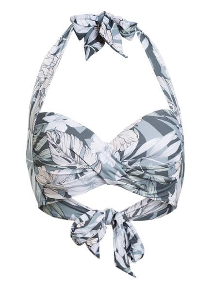 SEAFOLLY Neckholder-Bikini-Top COPACABANA , Farbe: MINT/ GRAU (Bild 1)
