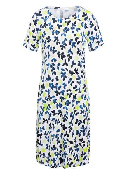 efixelle Kleid, Farbe: WEISS/ BLAU/ NEONGRÜN (Bild 1)