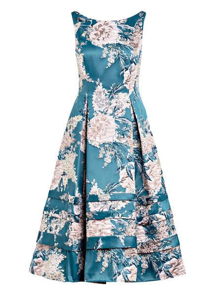 ADRIANNA PAPELL Jacquard-Kleid, Farbe: PETROL/ ROSA (Bild 1)