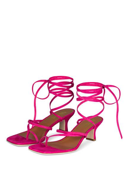 PARIS TEXAS Sandaletten, Farbe: PINK (Bild 1)