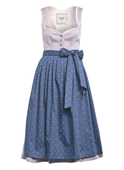 CocoVero Dirndl JOSEPHINE, Farbe: HELLLILA/ BLAU (Bild 1)