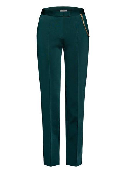 GIVENCHY Hose mit Kettendetail, Farbe: PETROL (Bild 1)