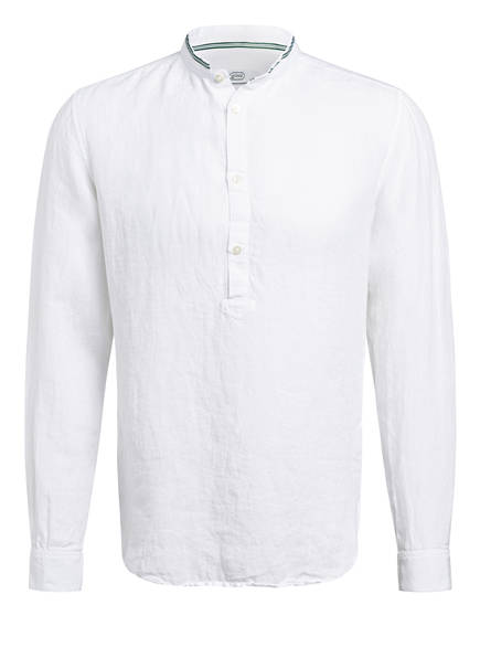 gössl Trachtenhemd aus Leinen , Farbe: WEISS (Bild 1)