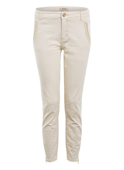 MOS MOSH 7/8-Jeans ETTA mit Glitzergarn , Farbe: ECRU (Bild 1)