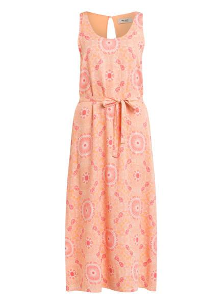 MOS MOSH Kleid MARRIN mit Bindedetail , Farbe: HELLORANGE/ HELLROT (Bild 1)