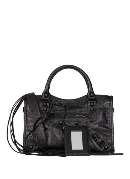 BALENCIAGA Handtasche CLASSIC MINI CITY, Farbe: SCHWARZ (Bild 1)