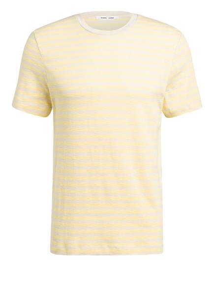 SAMSØE  SAMSØE T-Shirt SALEBY, Farbe: GELB/ CREME GESTREIFT (Bild 1)