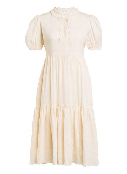 SAMSØE  SAMSØE Kleid MELINDA mit Seide, Farbe: CREME (Bild 1)