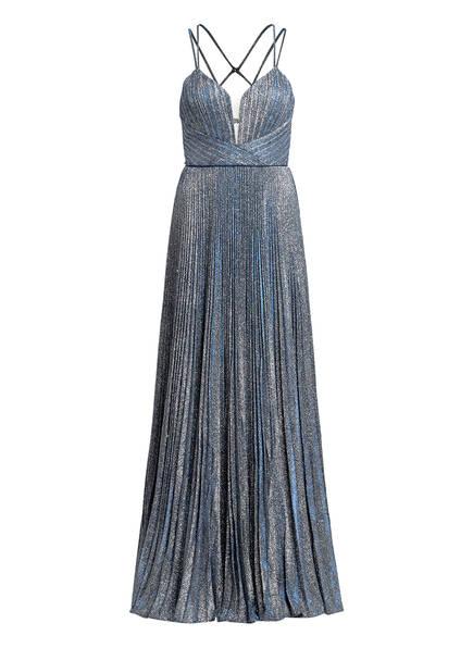 MASCARA Abendkleid , Farbe: SILBER/ BLAU (Bild 1)