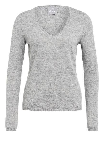 FTC CASHMERE Cashmere-Pullover , Farbe: HELLGRAU MELIERT (Bild 1)