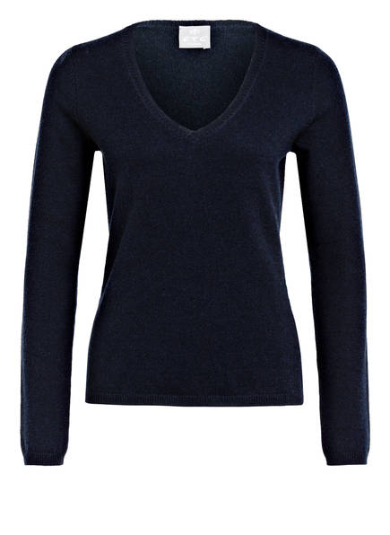 FTC CASHMERE Cashmere-Pullover , Farbe: DUNKELBLAU (Bild 1)