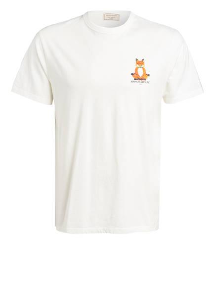 MAISON KITSUNÉ T-Shirt LOTUS FOX, Farbe: ECRU (Bild 1)