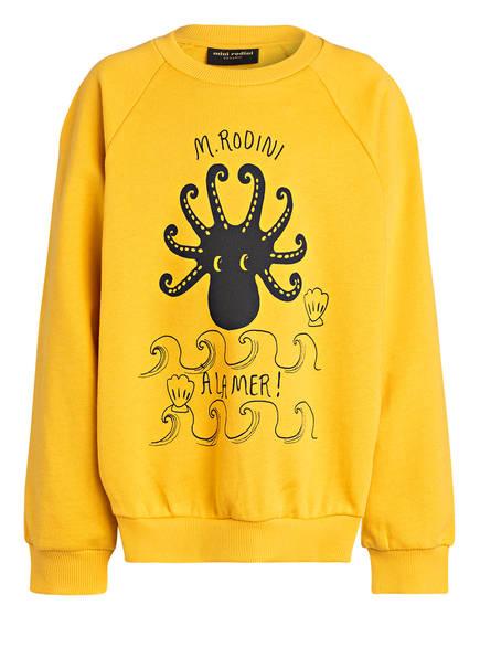 mini rodini Sweatshirt , Farbe: GELB (Bild 1)