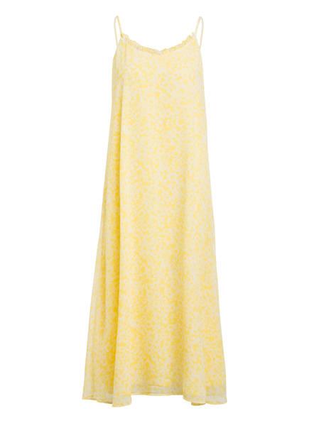 BRUUNS BAZAAR Kleid BLOSSOM PARIS mit Rüschenbesatz, Farbe: GELB/ WEISS (Bild 1)