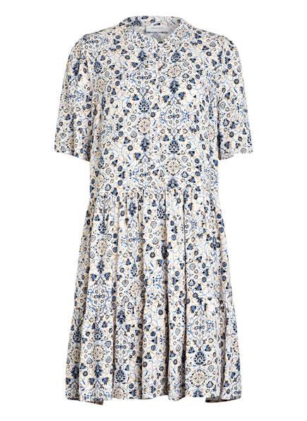 FREEQUENT Kleid, Farbe: CREME/ BLAU/ BEIGE (Bild 1)