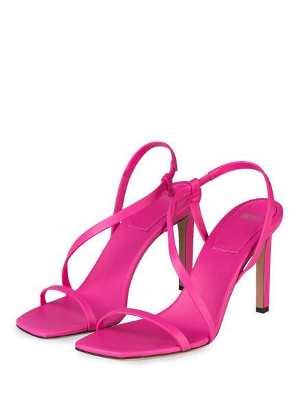 BOSS Sandaletten KRISTIN, Farbe: PINK (Bild 1)