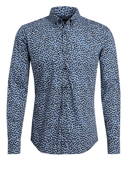 BOSS Hemd MABSOOT Slim Fit, Farbe: DUNKELBLAU (Bild 1)