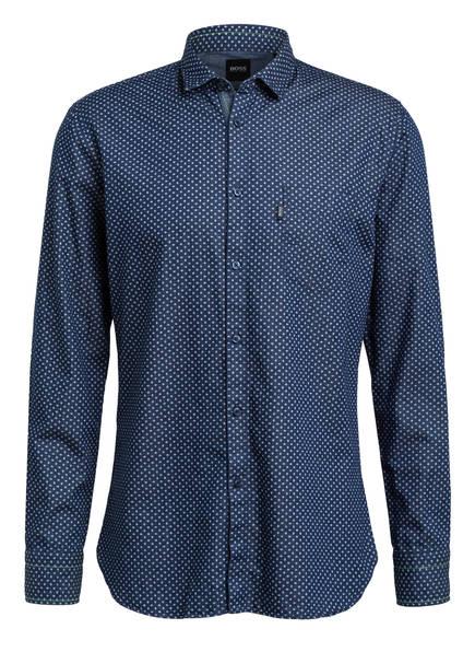 BOSS Hemd MAGNETON Slim Fit, Farbe: DUNKELBLAU (Bild 1)