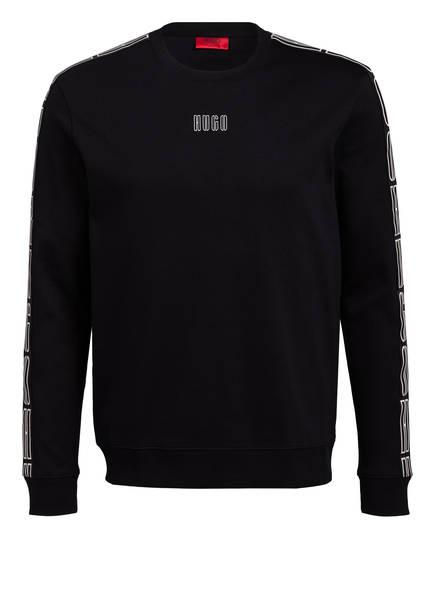HUGO Sweatshirt DOBY, Farbe: SCHWARZ (Bild 1)