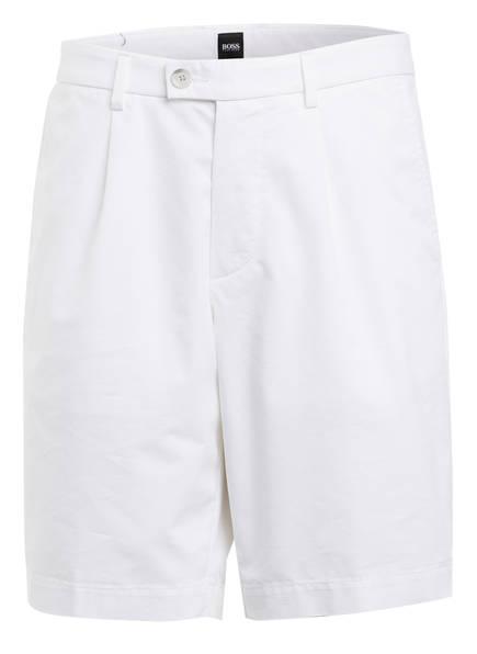 BOSS Chino-Shorts SLICE Regular Fit, Farbe: WEISS (Bild 1)