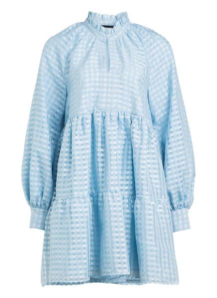 STINE GOYA Kleid JASMINE mit Volantbesatz, Farbe: HELLBLAU (Bild 1)