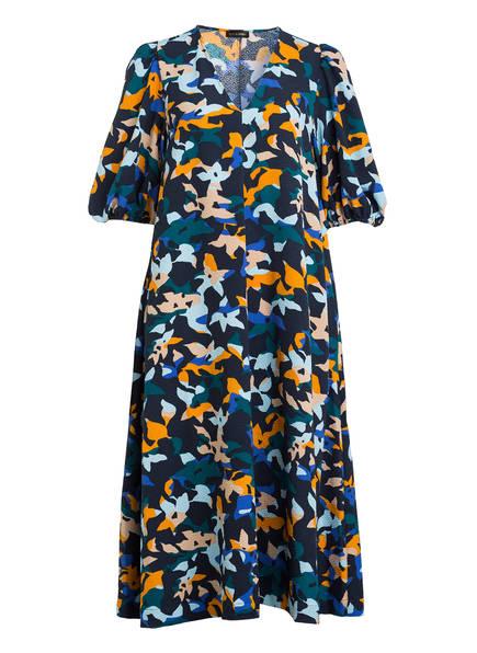 STINE GOYA Kleid MAVELIN, Farbe: DUNKELBLAU/ ORANGE/ GRÜN (Bild 1)