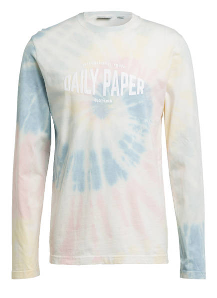 DAILY PAPER Longsleeve, Farbe: HELLGELB/ HELLBLAU/ HELLROSA (Bild 1)