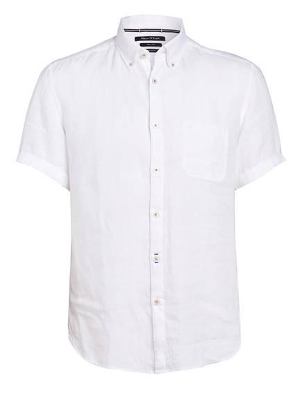 Marc O'Polo Halbarm-Hemd Regular Fit aus Leinen, Farbe: WEISS (Bild 1)
