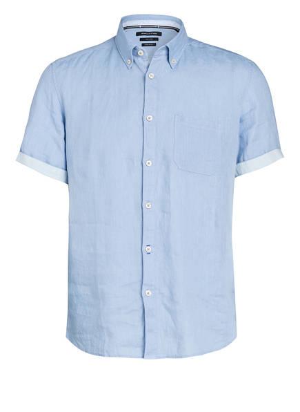 Marc O'Polo Halbarm-Hemd Regular Fit aus Leinen, Farbe: HELLBLAU (Bild 1)
