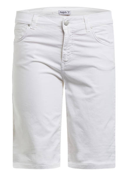 ANGELS Jeans-Shorts , Farbe: WEISS (Bild 1)