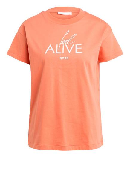 BOSS T-Shirt ECURATA, Farbe: ORANGE (Bild 1)