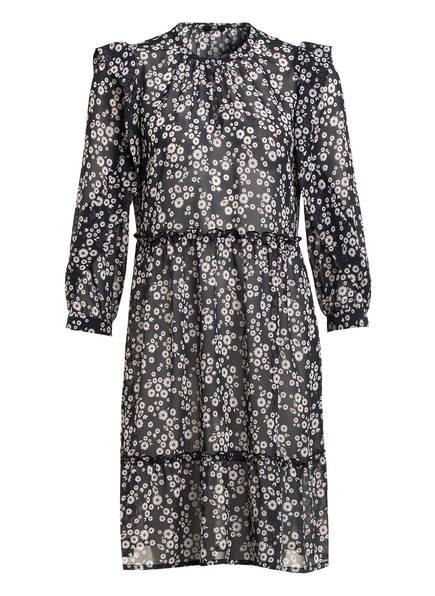 RIANI Kleid mit 3/4-Arm, Farbe: SCHWARZ/ ECRU/ ROT (Bild 1)