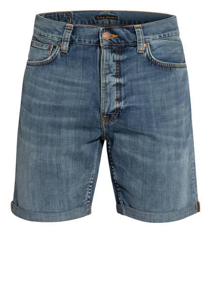 Nudie Jeans Jeans-Shorts JOSH Regular Fit, Farbe: INDIGO FLOW BLUE (Bild 1)
