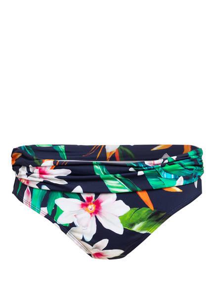LAUREN RALPH LAUREN Bikini-Hose WATERCOLOR TROPICAL , Farbe: BLAU/ GRÜN/ WEISS (Bild 1)
